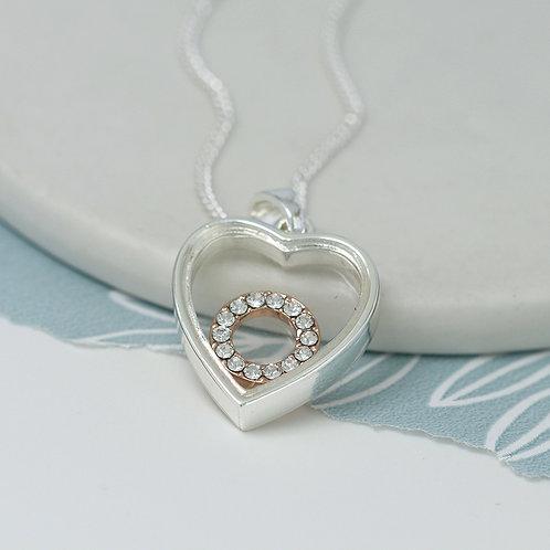 Circle\Heart Pendant