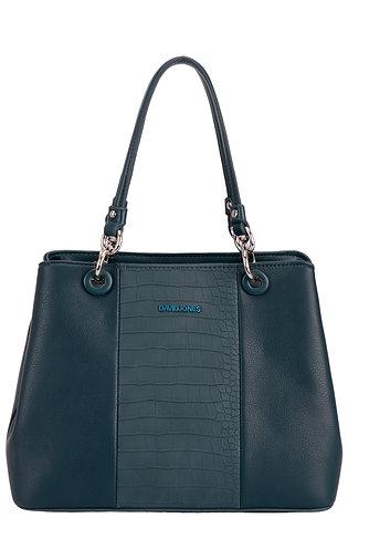 David Jones Peacock Blue Handbag