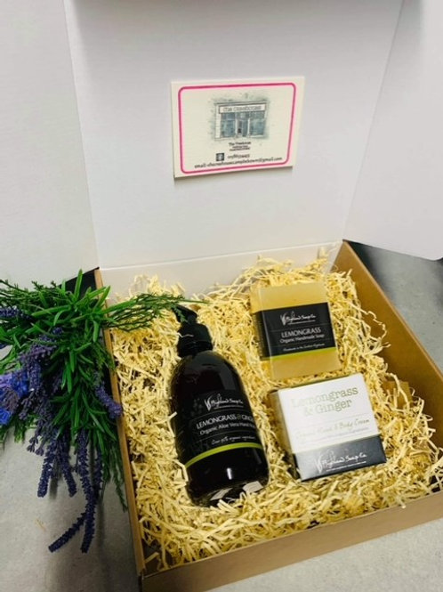 Highland Soaps Lemongrass Gift Set