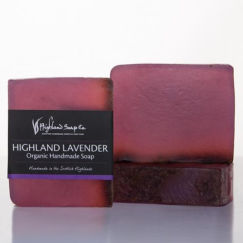 Highland Lavender Organic Glycerine Soap