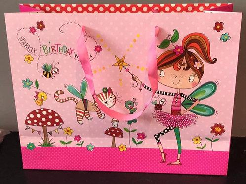 Sparkly Birthday Wishes Gift Bag