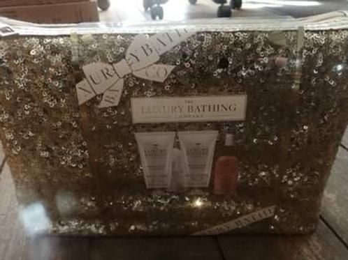 Luxury Bathing Co Gold Sparkle Gift Set