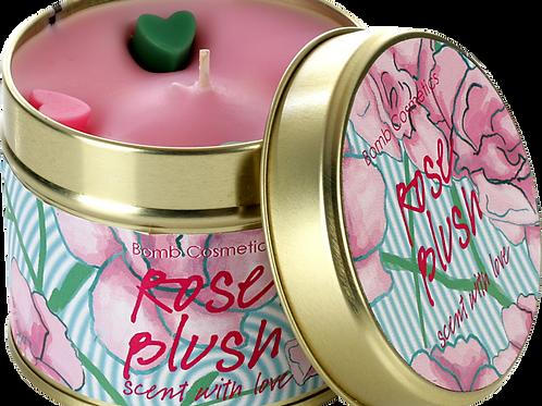 Rose Blush Tin Candle