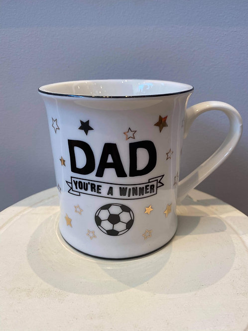 Dad you're a winner mug