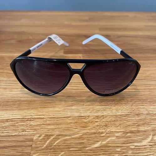 Pilgrim Black & White Sunglasses