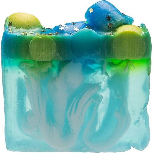 Planet Peppermint Soap Slice
