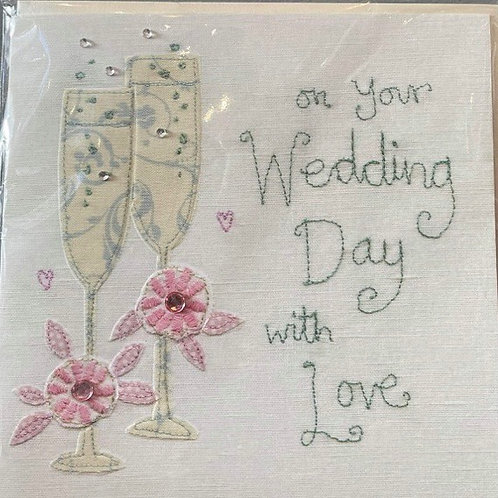 Wedding Day with love Card