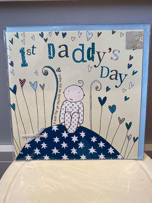 1st Daddy's Day Card