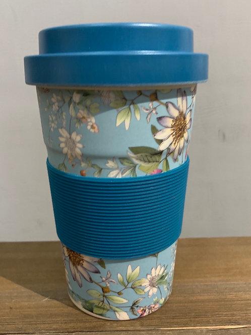 Bamboo reusable Travel Mug