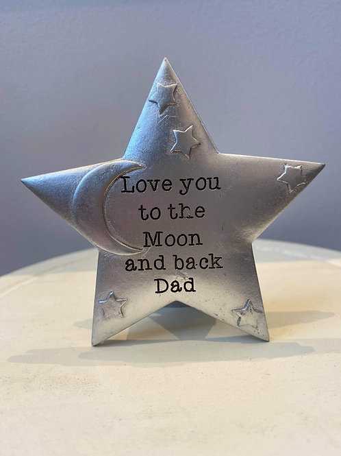 Love you to the moon & back Dad