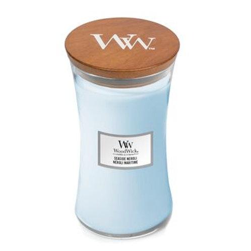 Woodwick Seaside Neroli Large Hourglass Candle