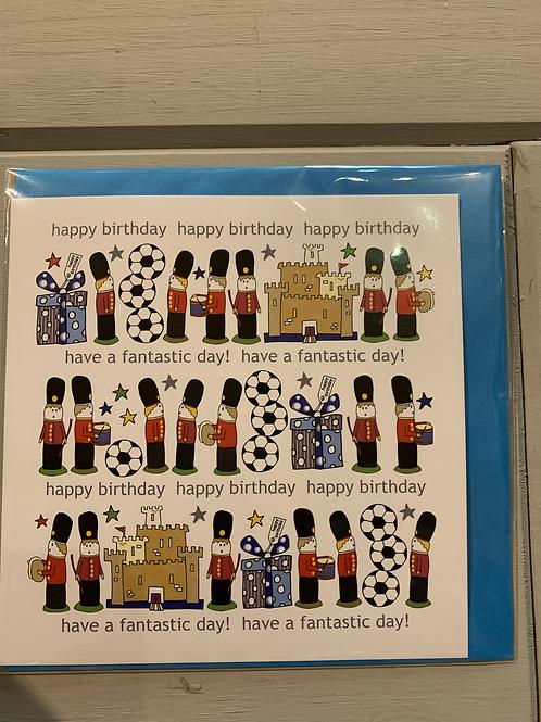 Birthday Card - Boy