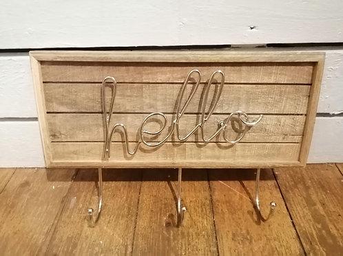 """""""Hello"""" Door Hook"""