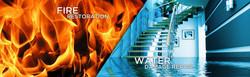 fire restoration & water damage repair
