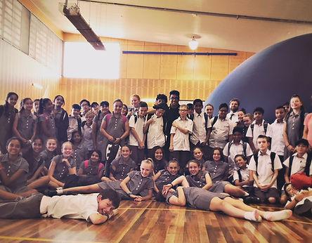 Mobile Planetarium School Sydney NSW