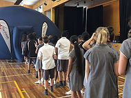 Sydney Planetarium Incursion. Mobile Planetarium. School Planetarium Incursion