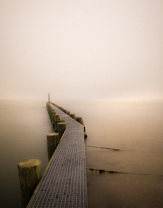 Pier in Fog
