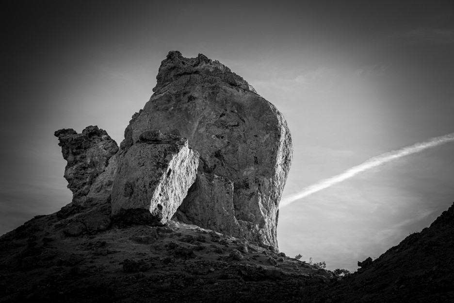 Rock With Contrail