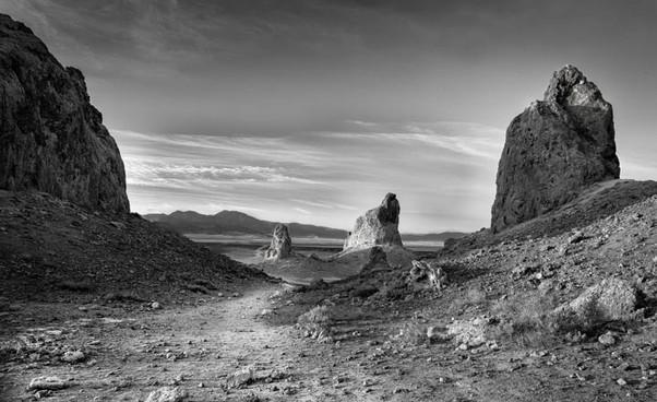 The Path at Trona Pinicles