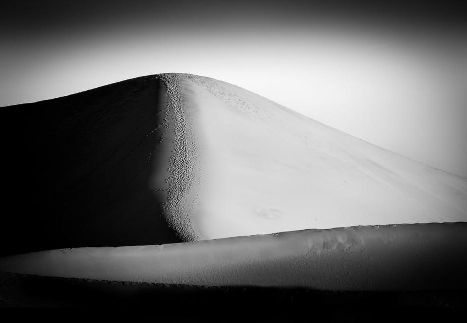 Foot Prints on Dunes