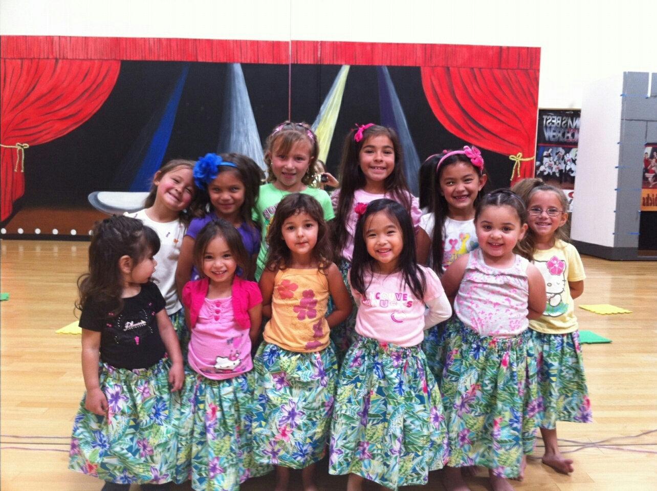 Keiki Hula and Tahitian dance. ages 2-7