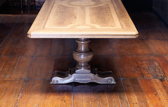 LOUIS VIENNA REFECTORY TABLE