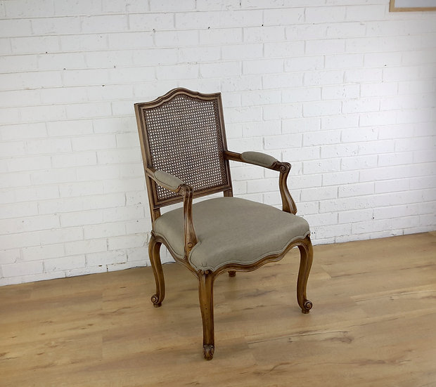 Orlando cane back Carver chair