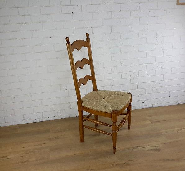 French Boulengerie ladder back  chair