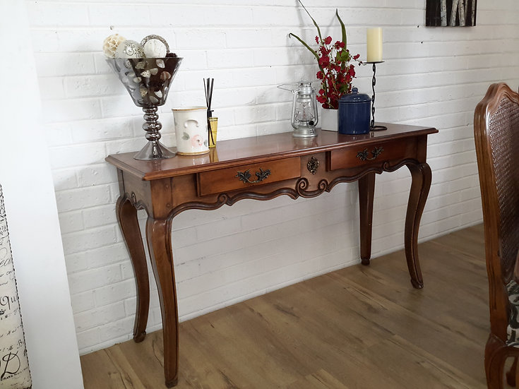 2 drawer French Console