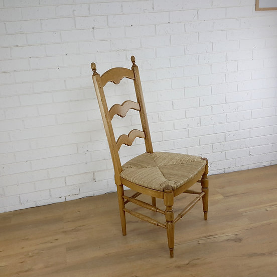 French Mariner ladder back chair