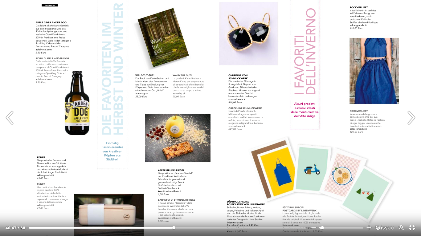 Merano Magazin Winter 2019-2020