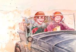 Alice and Jess's road trip to Alice Spri