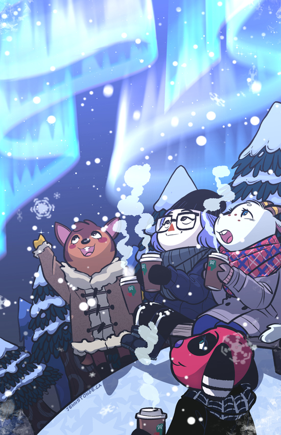 """Share the Warmth"" Animal Crossing zine"