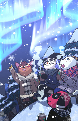 """Share the Warmth"" Animal Crossing zine"