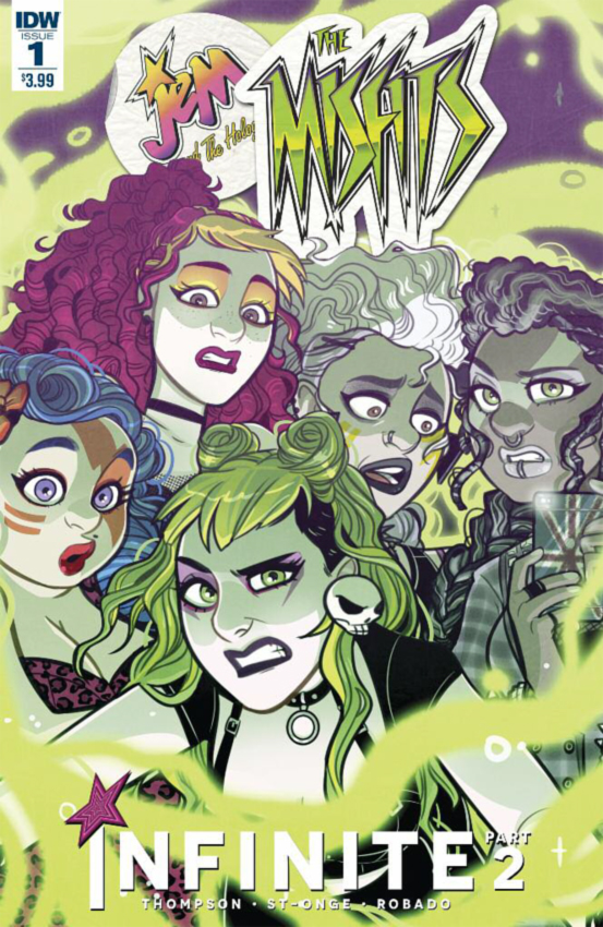 """The Misfits:Infinite"" issue 2 cover"
