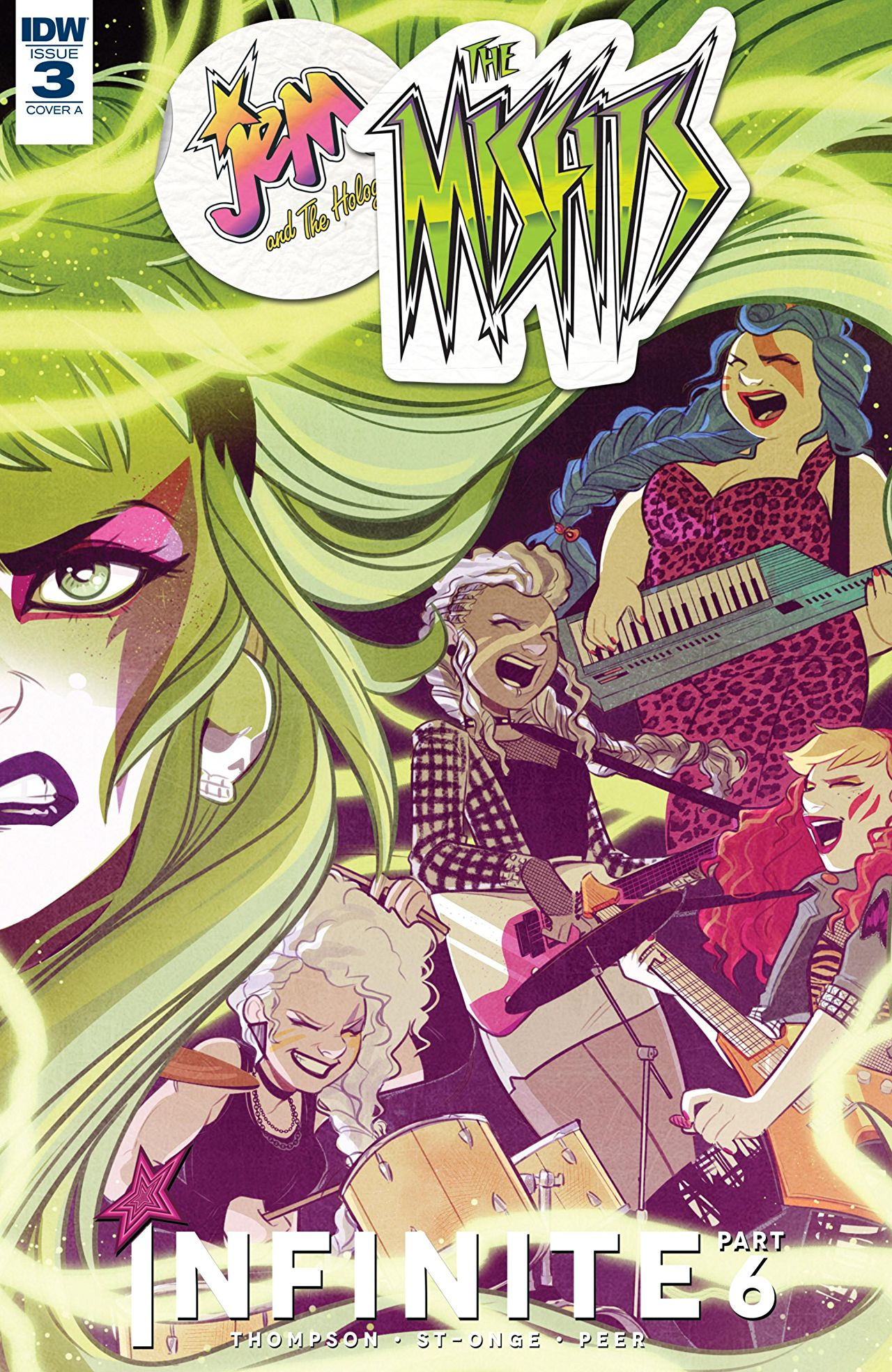"""The Misfits:Infinite"" issue 6 cover"