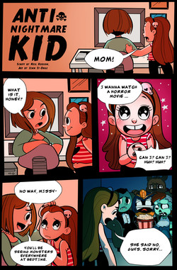 """""""Anti-Nightmare Kid"""" page"""