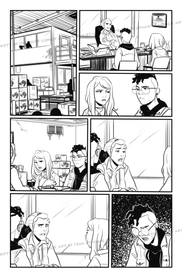 Inks sample, issue #4