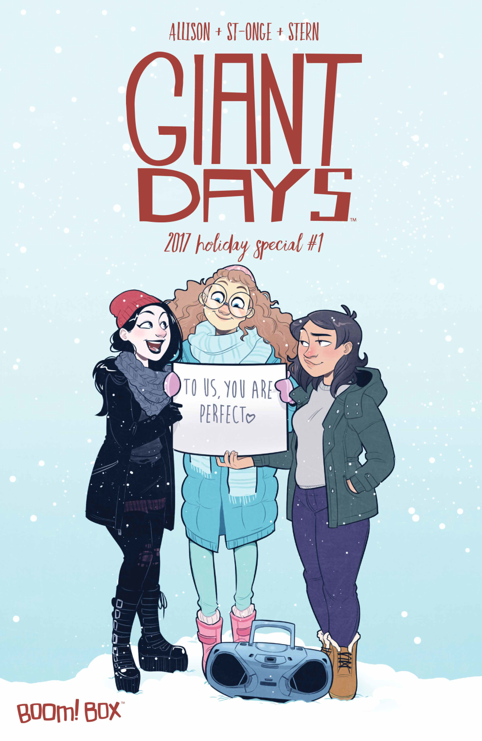 """Giant Days"" Holiday Special 2017"