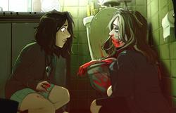 """""""DANGER DAMES: Ladies of Horror"""" zine"""