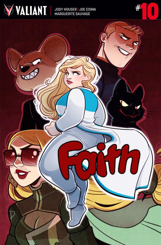 """""""Faith"""" issue #10 variant"""
