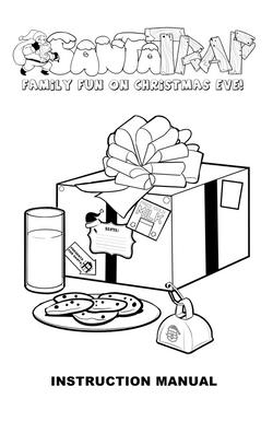 """Santa Trap"" manual cover"