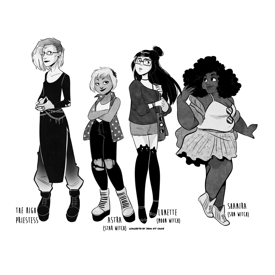 """TABULA IDEM: A Queer Tarot Comic"""