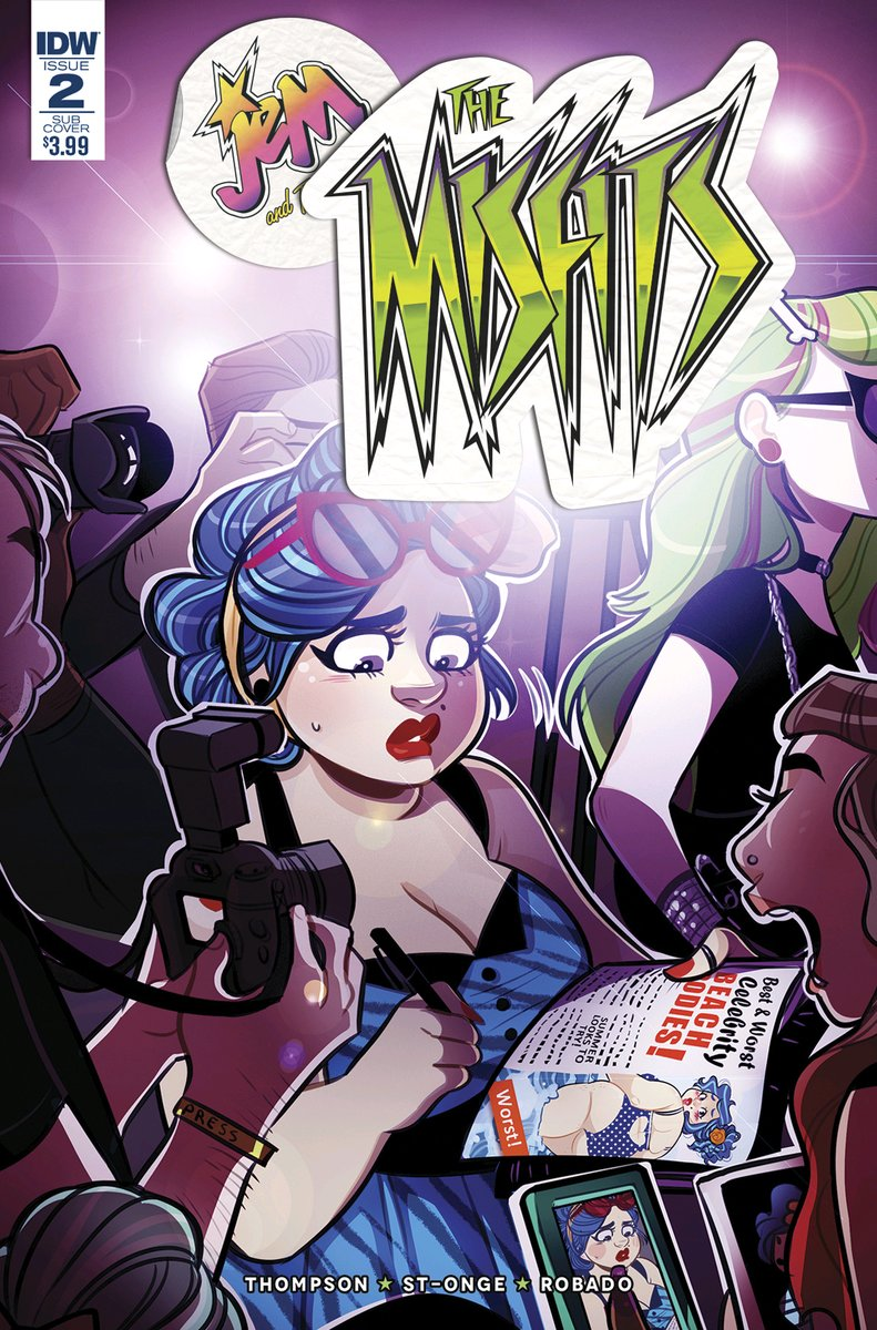 """The Misfits"" issue 1 sub cover"