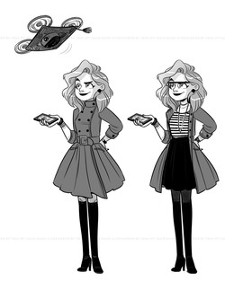 """""""Tilly"""" character test"""