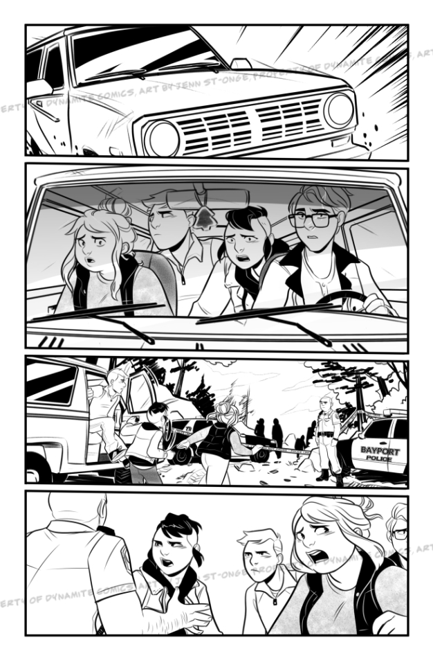 Inks sample, issue #3