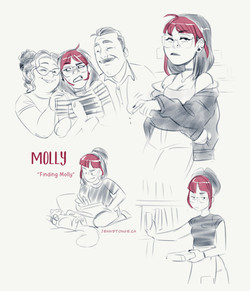 "character concepts, ""Finding Molly"""