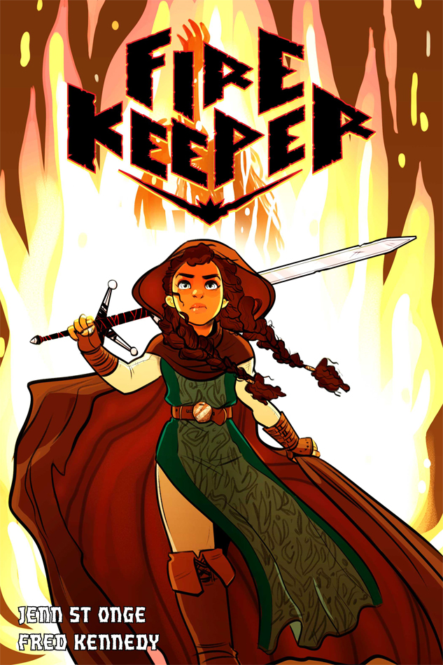"""Fire Keeper"" Cover"