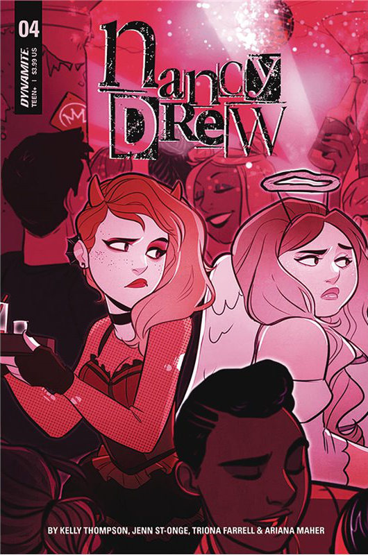 """Nancy Drew"" #4 cover art"