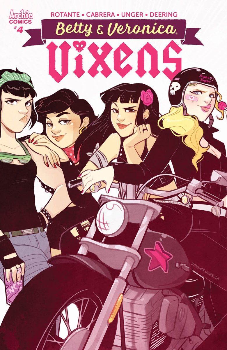 """Betty&Veronica: Vixens"" #4 variant"